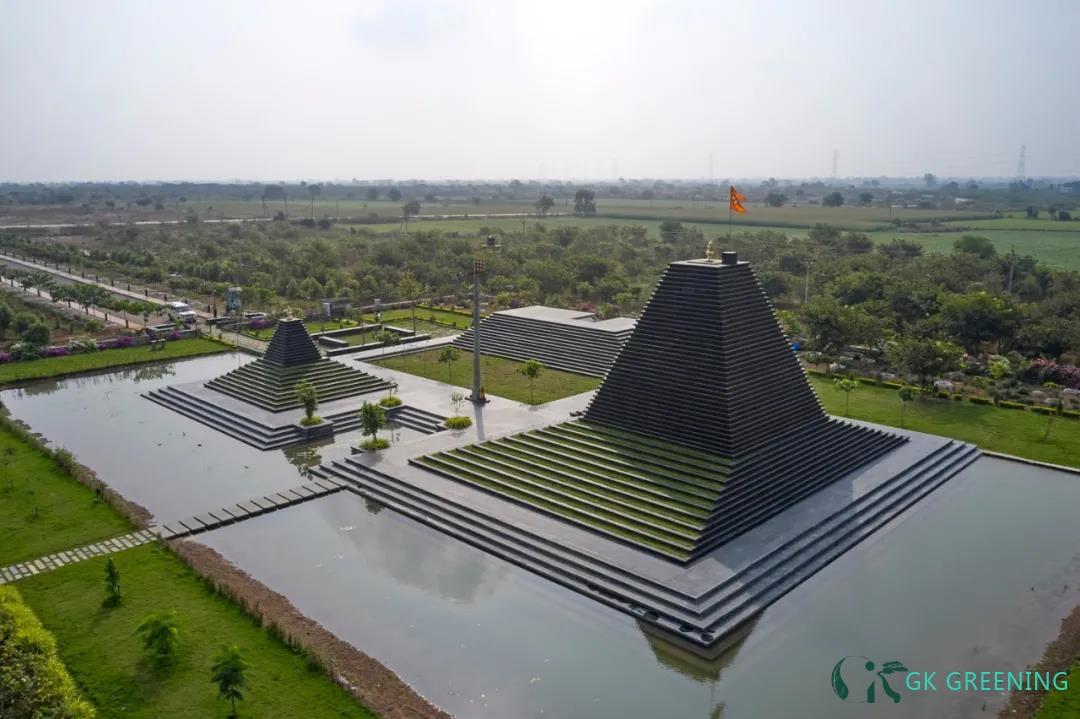 印度石阶寺庙 / Sameep Padora & Associates