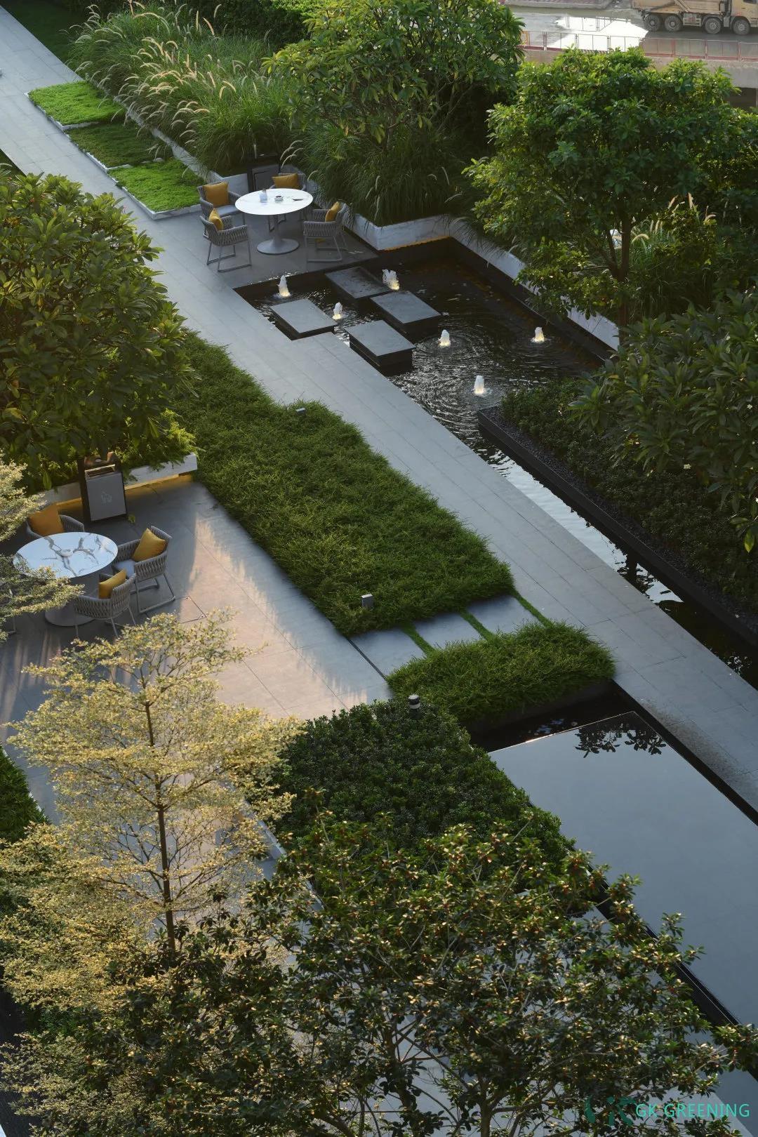 一处屋顶轻花园  闹市中的自然体验